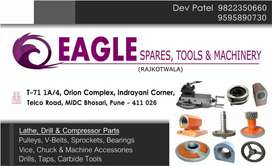 Lathe Machine Parts, Drill Machine Parts