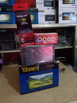 Double din tv, antenaTV booster, Camera mundur+Psang