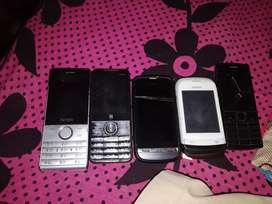 Intex, I ball, Nokia, Nokia, Nokia,