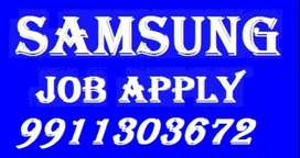 Samsung Company job full time apply in helper,store keeper,supervisor