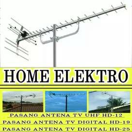 Pengalaman & Ahli pemasangan antena TV HDU