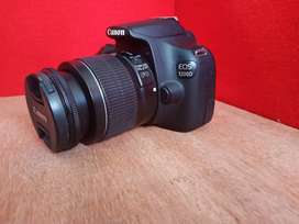 Kamera DSLR Canon 1200d GARANSI TOKO mulus normal free isi efeck