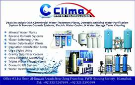 Water filter and water tanks cleaning