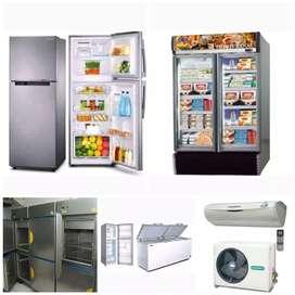 Service,AC, kulkas,freezer,mesin cuci,dll