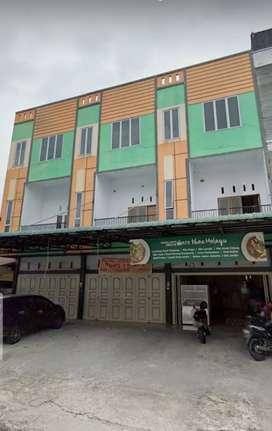 Dijual Ruko 2,5 Lantai 2 unit , di jl S.Parman Pekanbaru