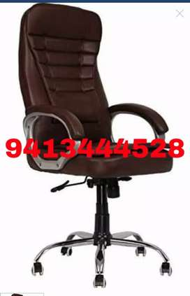 New stylish office chair with Steel base