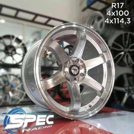Jual Velg Mobl Honda Jazz Racing Ring 17 HSR Di Toko Velg Mobil Medan