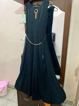 Zed black long dress in just Rs 950