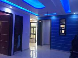 Ground Floor Available 3 bh.k flat Set near to metro station...