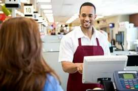 Cashier for South Indian outlets