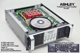 Power Ampli Amplifier ASHLEY V41000 V 41000 Utk Subwoofer 4 channel