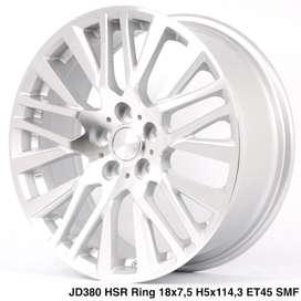 free ongkir AKITA JD380 HSR R18X75 H5X114,3 ET45 SMF