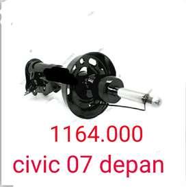 Shock depan set Honda civic 2007-on