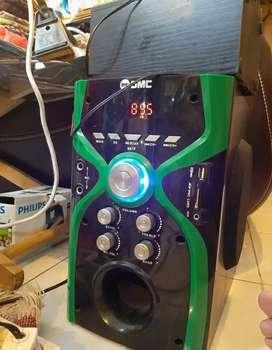 Speaker radio bluetooth GMC