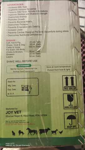 Calcium CAL 2900 a Joy vet product