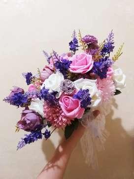 Hand Bouquet Wedding Bunga Pernikahan atau Tunangan