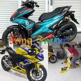 stiker decal motor nmax ninja250 cbr150 cbr250 R15 xmax aerox vario150