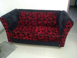 7 seater velvet sofa set