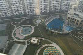 3 BHK Semi furnished flat on rent in Ace city Noida extension