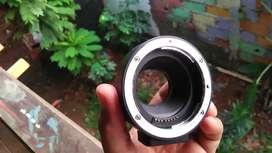 Adapter mirrorless canon ke lensa canon EF & EFS