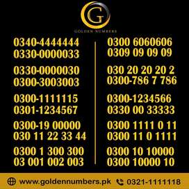 Diamond and Golden Mobile Numbers