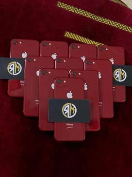 Iphone 8 64gb Red product Factory Unlocked Genuine pta Approved
