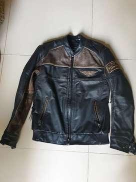 Jaket kulit harley ori