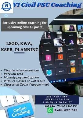 Civil engineering Psc coaching