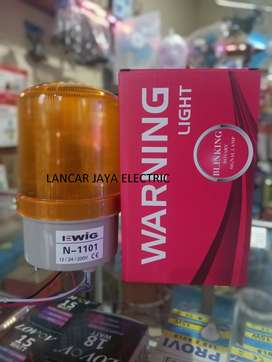 Warning Light Rotary Lamp Led N1101 Kuning Multivolt-3 Type