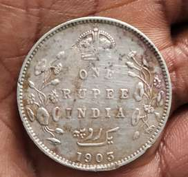 British Indian coin