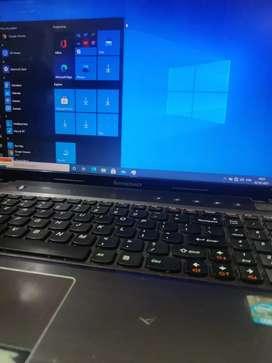 Laptop i5 lenovo ideapad Z570 with win 10