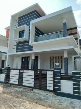3 bhk 1450 sqft 3 cent new build  at aluva near edathala kunjattukara