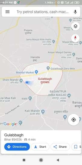 12 lakh per kattha in road side gulabbgh
