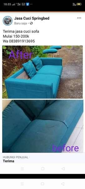 Jasa cuci sofa Denpasar Bali