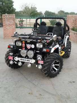 Verma open Jeep for sale in all State transfer