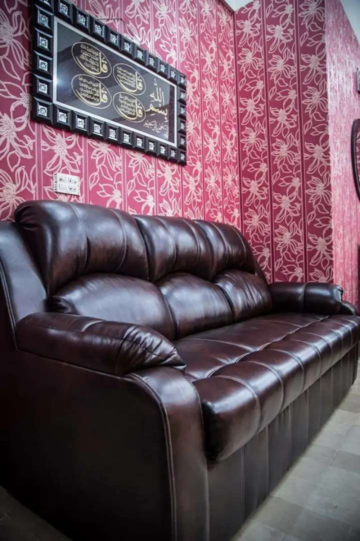 New comfortable sofa set Seven Seater in imported Leatheright Cushion
