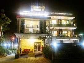 Kode : VL 09 #Rumah Istirahat 4 Lantai di Kaliurang Yogyakarta