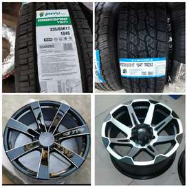 IMPORTED TYRES ALLOY WHEELS N BRAZILIAN RIMS