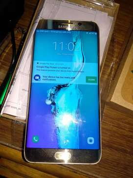 Samsung galaxy S6 edge plus with one year warranty