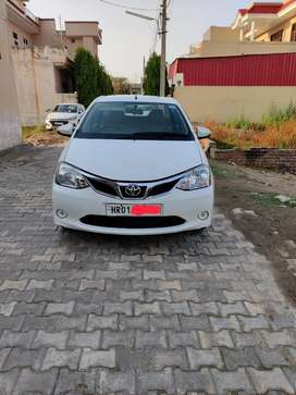 Brand New Condition Toyota Etios For Sale Pearl White.