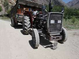 Tractor and trali for sale