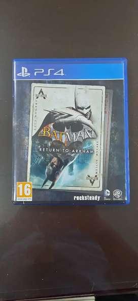 Kaset BD ps4 Batman Arkham