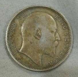 Round Antique Silver-Coin