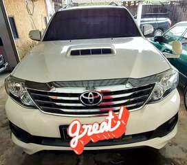 Toyota Fortuner G At 2013 Putih Kondisi Siap Pakai