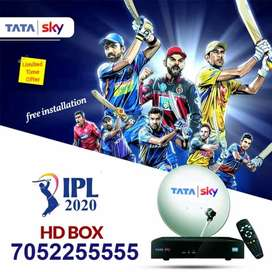 BIG offer TATA SKY NEW CONNECTION HD BOX