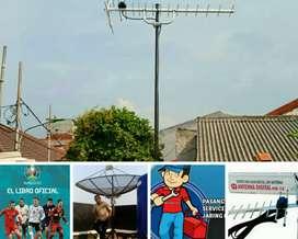 Tempat Pasang Baru Sinyal Antena Tv Uhf Digital Siaran Bola.