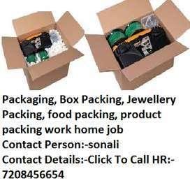 Packing job - Box Packing - Jewellery chocolate ,dry fruit job