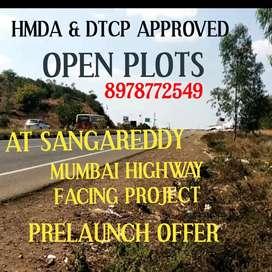 SANGAREDDY-BUDHERA OPEN PLOTS MUMBAI HIGHWAY FACING PROJECT