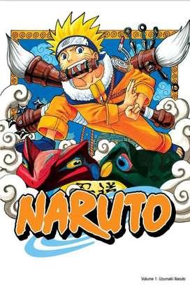 Jual Komik Naruto Borongan gak bs keteng