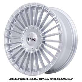 jual velg hsr termurah for yaris,jazz,freed,nissan march, dll
